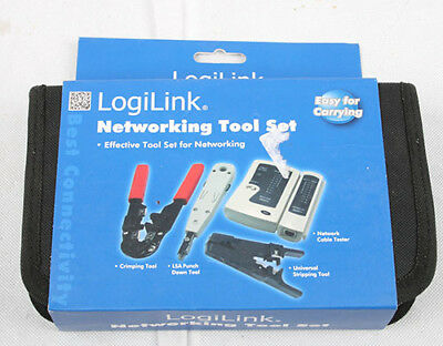 LogiLink Networking Tool Set with Bag 1 ..
