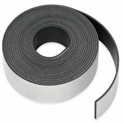 25 Ft Magnetic Strip Tape Self-Adhesive On Back For Crafting Fridge Magnets