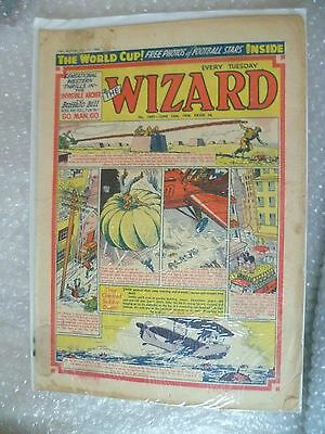 Comic- The Wizard Comic No.1687 14th June 1958