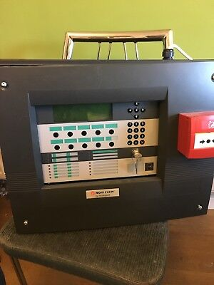 Notifier ID3000 fire panel - with one loop driver