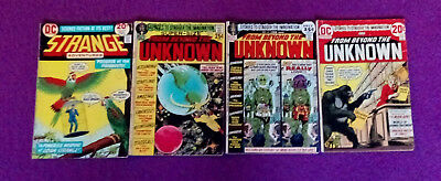 DC From Beyond The Unknown # 9, 13 & 23/Strange Adventures # 244 - fair to good