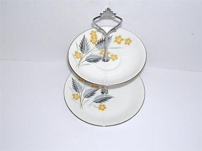 Retro Windsor Small 2 Tier Cake/Biscuit Stand