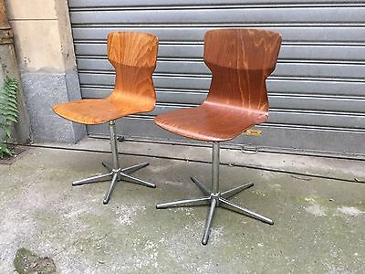 Pagholz Vintage Industrial Chair's Lot of 2