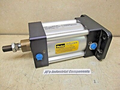 Parker,   100 Mm Bore  X  80 Mm Stroke,   Pneumatic Cylinder,   Extruded Body