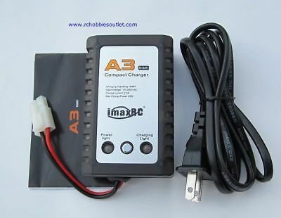 7.2 VOLT RC CHARGER  IMAX A3 NIMH/ NiCD BATTERY  2000 mA