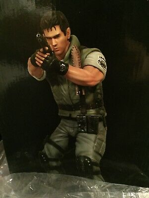 Resident Evil Chris Redfield #65 Of 500 New Statue 1:6 Scale