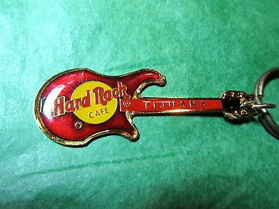 Hard Rock Cafe Tijuana Mexico Guitar Travel Souvenir Key Ring (374)