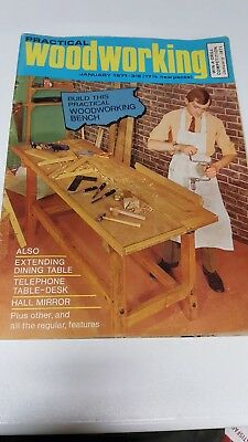 Practical Woodworking 1971 9 x Issues