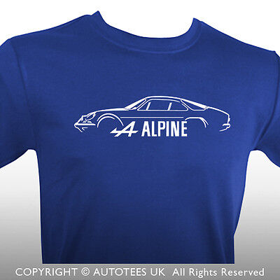 Renault Alpine A110 Inspired Classic Car T-Shirt