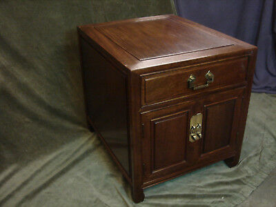 Vintage Rosewood Chinese Bed side/setee side/free standing Cabinet/Cupboard