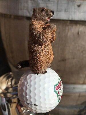 Caddyshack Golf TAP HANDLE Gopher Beer Keg Bushwood Country Club Ball Pull Knob