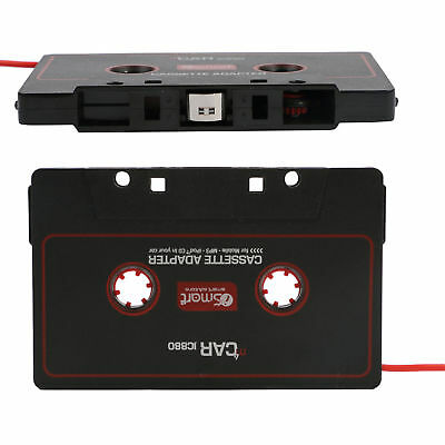 CAR AUDIO TAPE CASSETTE ADAPTER IPHONE IPOD MP3 CD RADIO 3.5mm JACK AUX CABLE-CT