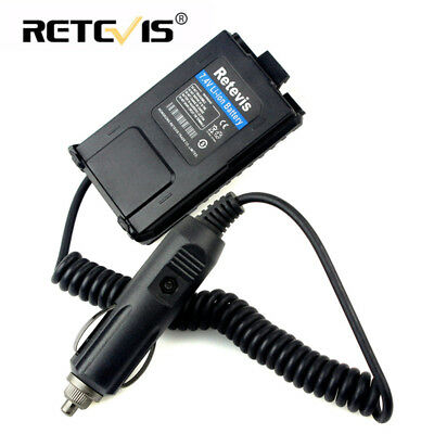 12V Car Radio Battery Eliminator Adapter for Baofeng UV5R Retevis RT-5R Radio