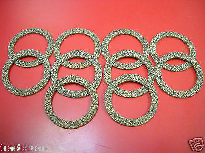 """Lot of 10 Allis Chalmers Tractor Sediment Bowl Gasket 2"""" B C WD 45 WC G 70208362"""