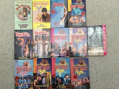 Sweet Valley High Pick Any 2 For $17 + Free Postage
