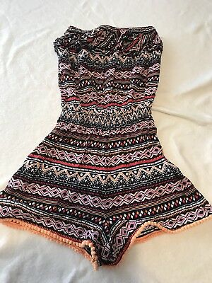 Girls 915 Playsuit Age 11