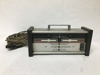Hunter Remote Control Indicator F/G/H/J111 Wheel Alignment Machines Tool Used