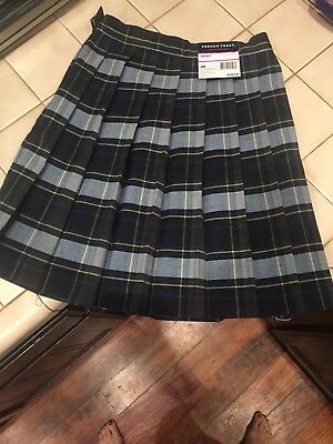 2 pair French Toast G Plaid 57 Pleated Skirt Size 6x