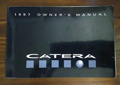 1997 cadillac catera owners manual guide book 12 36 picclick rh picclick com 1997 cadillac catera owners manual pdf 1997 cadillac catera owners manual pdf