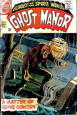 Us Comics Ghost Manor V1 #1-19 V2 #1-77 Silver/bronze Age Horror Comics On Dvd