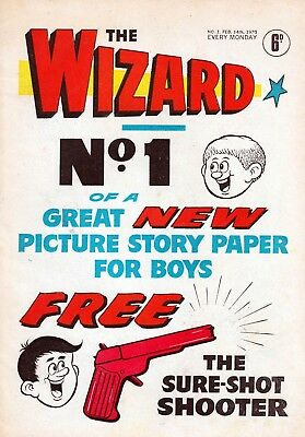 Uk Comics The Wizard Collection Of 400+ Boys' Adventure Comics On Dvd