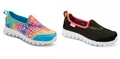 New S SPORT by Skechers GROOVY Slip-On Casual Shoes Youth Girls Sz 1.5- 4