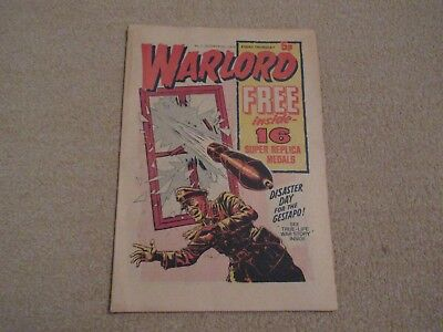 WARLORD comic No 2, Oct 5th 1974-good condition- like Victor