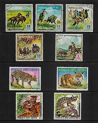 EQUATORIAL GUINEA - mixed collection, 1974 issues