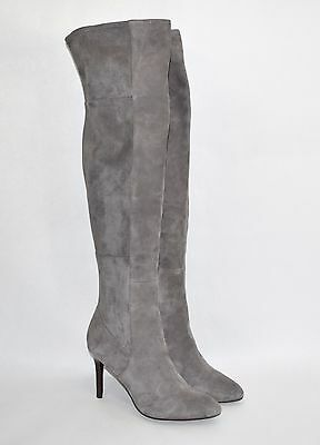 310e63eac37 COLE HAAN  Emilee  Over The Knee Boot OTK (85mm) Storm Cloud Gray Suede 8 B  -  170.10