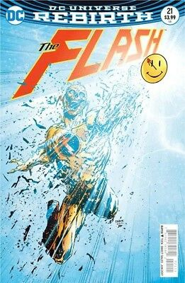 Flash #21 3D Lenticular Variant The Button Part 2 Nm Rebirth Doomsday Clock