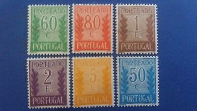 PORTUGAL Old Postage Due MH Stamps OG as Per Photos. Bargain