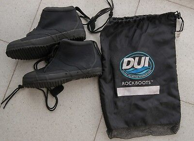 Scuba DUI Rockboots for Dry Suit - New but opened
