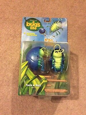 Disney Pixar A Bug's Life Tuck and Roll Action Figures Rare Collectable Movie