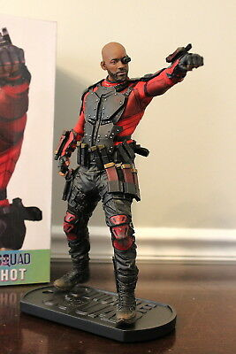 Suicide Squad: Deadshot 1/6 Statue Will Smith Dc Collectibles - New