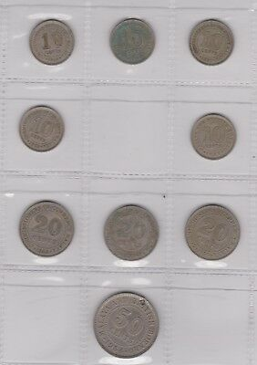 Straits Settlement Malaya Currency Board Coins
