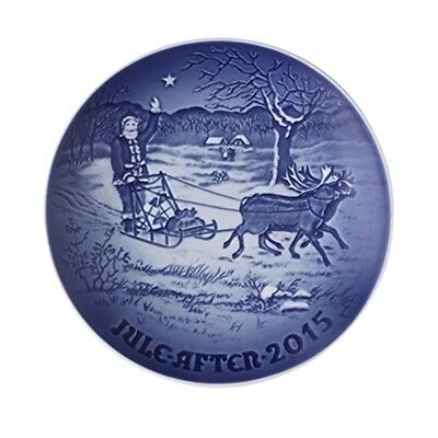 Royal Copenhagen / Bing & Grondahl 2015 ANNUAL CHRISTMAS PLATE New in Box