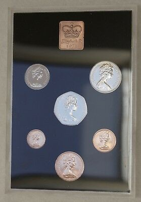 1971 Decimal Coinage of Great Britain and Northern Ireland Proof Set, FREE SHIP.