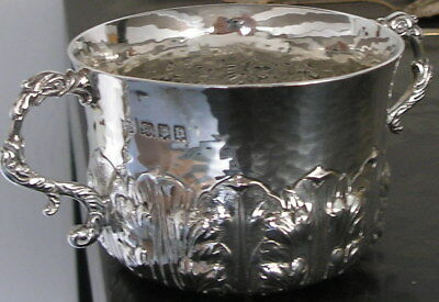 English Sterling Silver 1917 Porringer Caudle Cup 10.3 Oz NO RESERVE!!