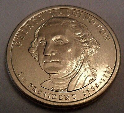 2007 D George Washington Presidential Dollar Coin  **FREE SHIPPING**