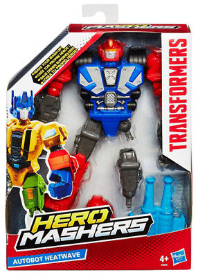 Transformers Hero Mashers Autobot Heatwave New Figure! Hasbro A8846 Brand New!