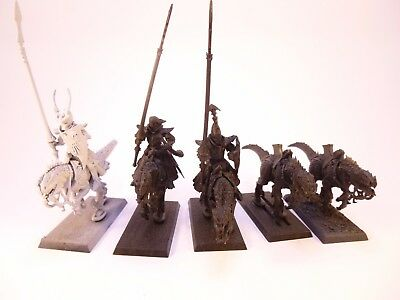 Warhammer Fantasy Sigmar Dark Elves Cold One Knights Missing riders