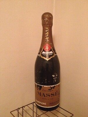 """HUGE Pere & Fils Masse Champagne Bottle Store Display """"32"""" TALL"""