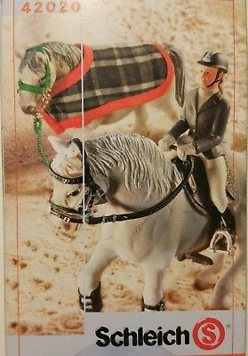 Schleich English Riding Accessory Kit 42020 for Model Horse - NEW in box