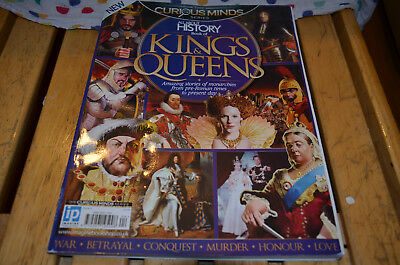 All About History Magazine Book Issue 4 Kings and Queens Facts Historical