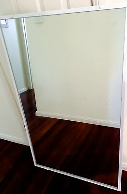 Bathroom Mirror with white frame - 1200mm X 745mm