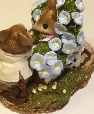 """Wee Forest Folk """"Mousie Comes A Calling """" FS-3 w/Orig. Box - Mint - Retired 96"""