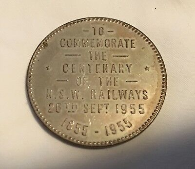 1955 Railway collectable  Commemorative Token