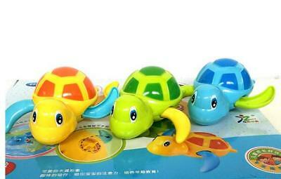 Wind up swim turtle baby bath kid children cute cartoon animal Tortoise toy