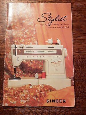Instruction Book for Singer Sewing Machine