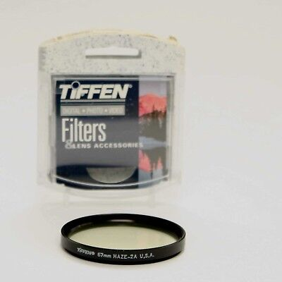 Tiffen 67mm Haze 2A Filter - old style case and filter - NEW